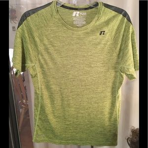 Boys Russell Athletic Heathered Green Shirt